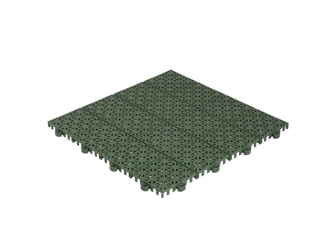 Hestra Plattan - Universa Emerald Green - smaragdovo zelená