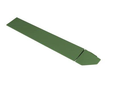 Hestra Plattan - Hestra Emerald Green - rohová lišta, smaragdovo zelená
