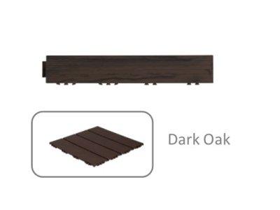 Okrajová lišta Wood Look - Dark Oak -Tmavý Dub