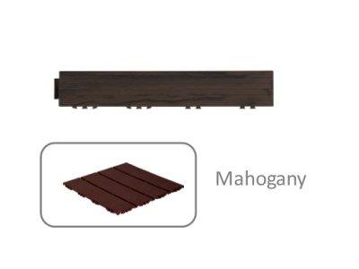 Okrajová lišta - Wood Look - Mahogany